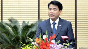 Ông Nguyễn Đức Chung, Thiếu tướng, Giám đốc Công an Hà Nội được bầu làm Chủ tịch UBND TP. Hà Nội hôm 04/12/2015. Photo: dantri.com.vn