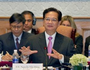 Thủ tướng khẳng định Chính phủ luôn ưu tiên khuyến khích phát triển kinh tế tư nhân (ảnh: VGP)