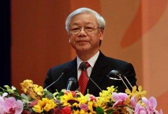 Nguyễn Phú Trọng. Nguồn: VnExpress