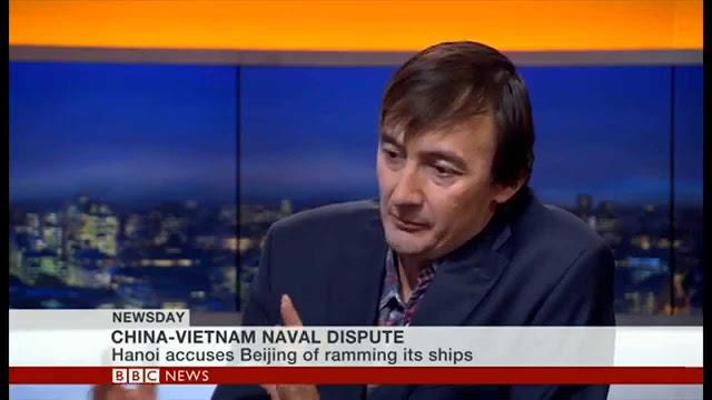 Bill Hayton. Nguồn: BBC