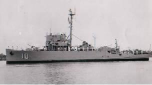 Hộ tống hạm HQ-10 Nhựt Tảo. Nguồn ảnh: internet