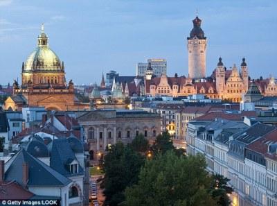 TP Leipzig. Nguồn ảnh: Daily Mail