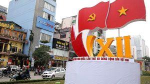 Việt Nam đang chuẩn bị cho kỳ Đại hội lần thứ 12 của Đảng Cộng sản khai mạc chính thức ngày 21/01/2016. Photo: EPA