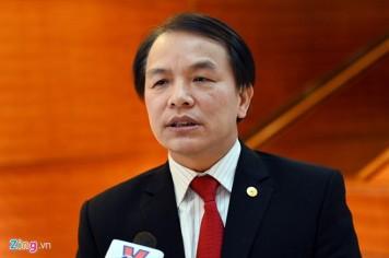 Phó Chánh văn phòng Trung ương Đảng Lê Quang Vĩnh. Ảnh: Hoàng Hà.