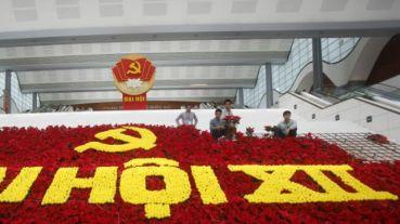 Trung tâm báo chí Đại hội XII đã được khai trương sáng 18/1. Ảnh: Reuters.