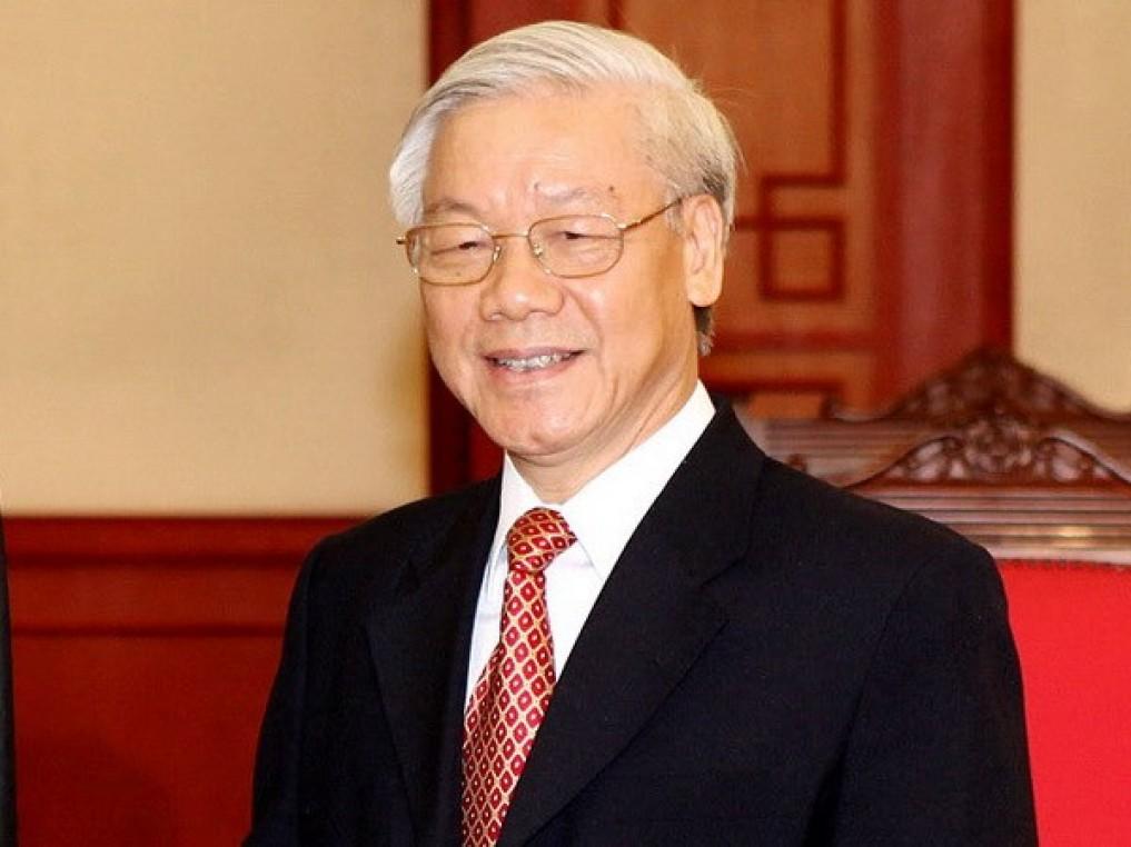 TBT Nguyễn Phú Trọng. Nguồn: báo PetroTimes