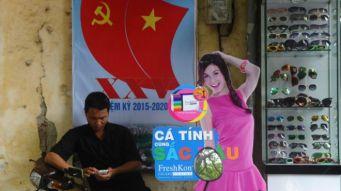 Người dân trông đợi Đại hội Đảng sẽ đem lại những chuyển biến kinh tế - xã hội trong năm 2016. Ảnh: AFP