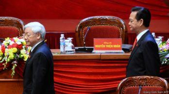 Đại hội 12 dự kiến sẽ công bố và ra mắt vị Tân Tổng bí thư của Đảng CSVN vào ngày 28/01/2016. Photo: Hoang Dinh Nam AFP.