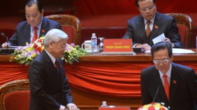 Báo chí quốc tế tiếp tục quan sát và theo dõi kỳ Đại hội 12 đang diễn ra của Đảng CSVN. Photo: AFP