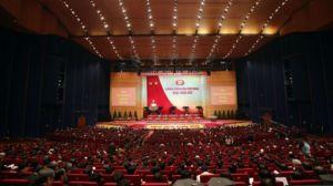 Đại hội 12 Đảng CSVN đang diễn ra ở Hà Nội. Ảnh: AFP