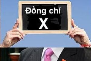 Đồng chí X. Nguồn ảnh: internet