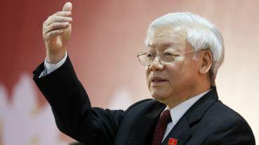 Ông Nguyễn Phú Trọng tiếp tục đứng đầu Đảng Cộng sản Việt Nam. Photo: Getty.