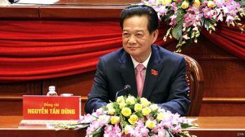 Thủ tướng Nguyễn Tấn Dũng đã được Đại hội 12 của Đảng CSVN đồng ý 'cho rút' khỏi danh sách nhân sự bầu vào Ban chấp hành Trung ương khóa mới. Nguồn: EPA