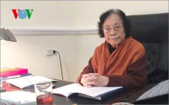 Bà Nguyễn Thị Bình. Ảnh: VOV