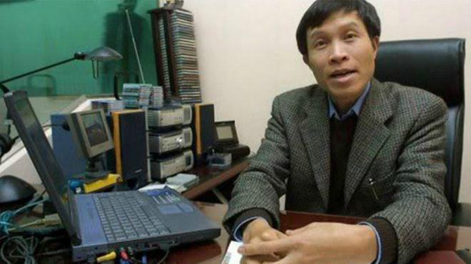 Ông Nguyễn Hữu Vinh bị bắt từ tháng 5/2014