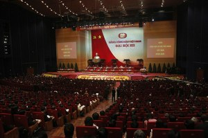 Nhìn vào cương lĩnh của Đảng Cộng sản, tức hai báo cáo chính trị và báo cáo về kinh tế - xã hội, thì không có định hướng. (minh hoạ). AFP PHOTO