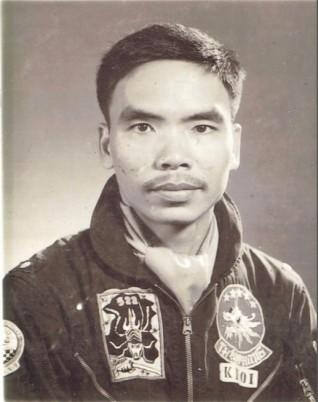 Phan Khôi, phi công A-1 Skyraider của Phi đoàn 522. Ảnh do tác giả cung cấp.