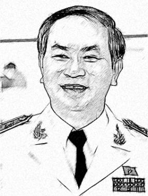 Ông Trần Đại Quang. Nguồn ảnh: Blog anh Ba Tào Lao.