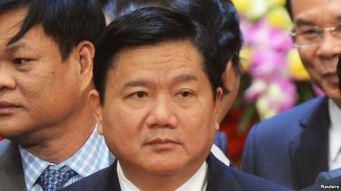 Tân Bí thư Thành ủy TP HCM Đinh La Thăng. Ảnh: Reuters