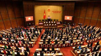 Bầu cử Quốc hội mới sẽ diễn ra ngày 23/5. Photo: AFP