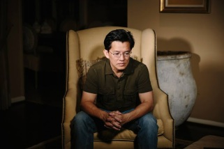Ông Nguyễn Thanh Tú, con trai nhà báo Nguyễn Đạm Phong. Nguồn: Frontline