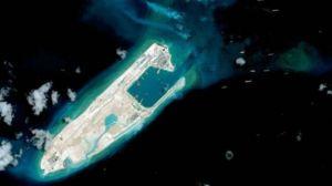 Trung Quốc liên tục cải tạo đảo và xây đường băng trên các đảo tranh chấp ở Biển Đông. Ảnh: AFP