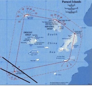 Quần đảo Hoàng Sa. Nguồn: internet