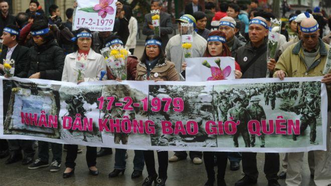 Image result for biểu tình tưởng niệm 19/2