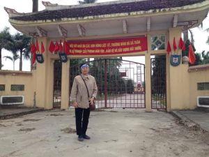 Bà Nguyễn Nguyên Bình. Ảnh của tác giả gửi tới.