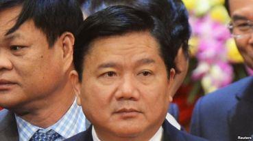 Tân Bí thư thành ủy Tp HCM Đinh La Thăng. Ảnh: Reuters.