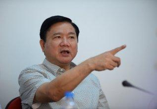 Bí thư Thành ủy Đinh La Thăng. Nguồn ảnh: báo Tuổi Trẻ.