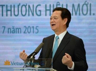 Thủ tướng Việt Nam Nguyễn Tấn Dũng, ảnh minh họa chụp hôm 2/7/2015 tại Hà Nội. Ảnh: AFP