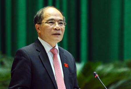 Chủ tịch Quốc hội Nguyễn Sinh Hùng. Nguồn: VNN