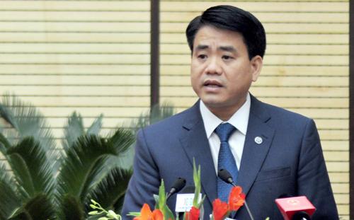 Chủ tịch UBND thành phố Hà Nội Nguyễn Đức Chung. Ảnh: VNN