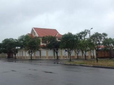 Biệt thự của ông Lê Phước Hoài Bão, nơi xảy ra vụ mất chim. Ảnh: Đất Việt. Ảnh: báo Đất Việt
