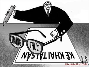 Biếm họa về tham nhũng