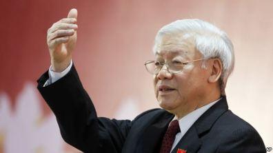 Tổng Bí Thư đảng CSVN Nguyễn Phú Trọng. Photo: AP