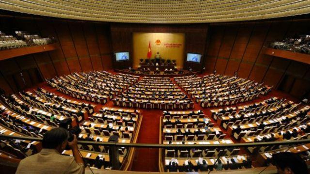 Cuộc bầu cử đại biểu Quốc hội khóa 14 sẽ diễn ra ngày 22/5. Photo: Hoang Dinh Nam AFP Getty