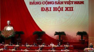 Tổng bí thư Nguyễn Phú Trọng phát biểu tại lễ khai mạc Đại hội đảng 12 hôm 21/1. Ảnh: Reuters.