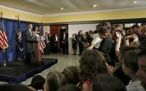 TT Obama phát biểu ở Cuba. Nguồn: internet