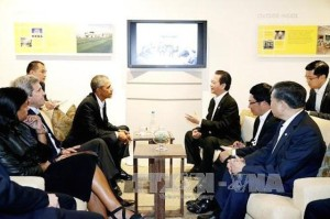TT Obama và Thủ tướng Nguyễn Tấn Dũng. Ảnh: TTXVN