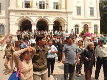 Ảnh chụp Tòa án Nhân dân huyện Gò Dầu. Nguồn: FB Võ An Đôn