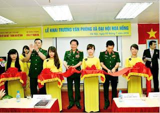 Đại hội lừa của Liên Kết Việt, có sự tham gia của Thượng tướng Nguyễn Huy Hiệu. Nguồn ảnh: internet