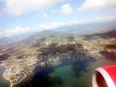Một góc ven biển Cam Ranh chụp từ máy bay, 8-2015 (Ảnh: BVB)