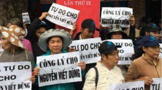 Ở phiên xét xử sơ thẩm, Nguyễn Viết Dũng chịu 15 tháng tù giam, sau đó phúc thẩm giảm còn 12 tháng. Ảnh: Facebook