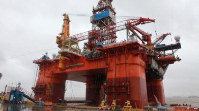 Giàn khoan dầu Hải Dương 981 là tâm điểm vụ đối đầu giữa Trung Quốc và Việt Nam năm 2014. Ảnh: AP
