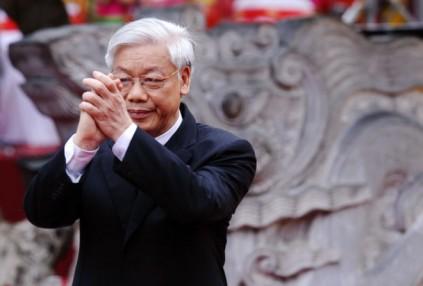 Ông Nguyễn Phú Trọng thắng thế. Nguồn: internet