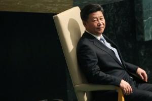 Chủ tịch Trung Quốc Tập Cận Bình trước khi phát biểu tại Đại hội đồng Liên hợp quốc ở trụ sở LHQ ở New York vào ngày 28 tháng 9 năm 2015. Spencer Platt / Getty Images