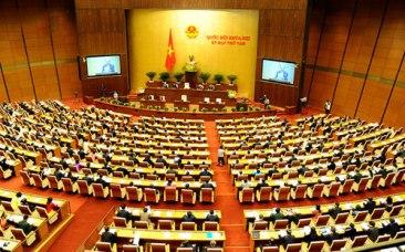 Quốc hội khóa 13, kỳ họp thứ 11. Nguồn: internet