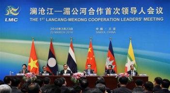 Hội nghị thượng đỉnh Lancang-Mekong Sanya, Hainan, Trung Quốc. Nguồn: internet